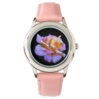 Pink and Gold Rose Watch