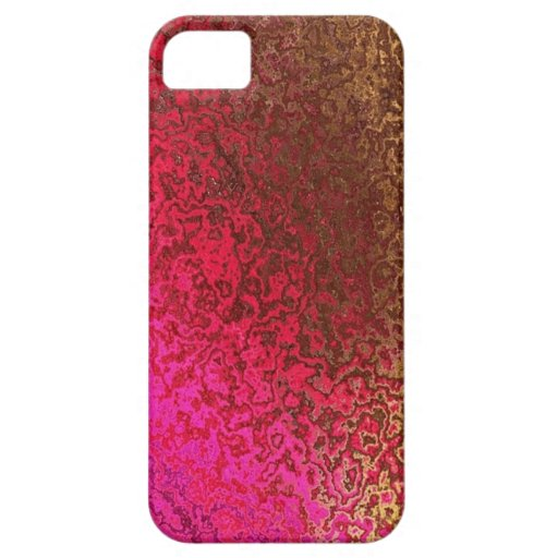 Pink and Gold Shimmer iphone 5 Case
