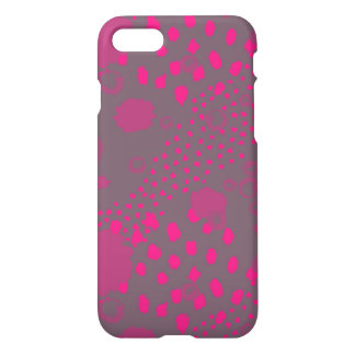Pink and Gray Abstract iPhone 8/7 Case