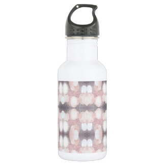 Pink And Gray Glitter Looking Pattern 532 Ml Water Bottle