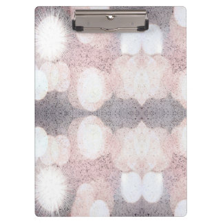 Pink And Gray Glitter Looking Pattern Clipboard