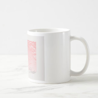 Pink and Gray Save The Date  Rose Edwardian Coffee Mugs