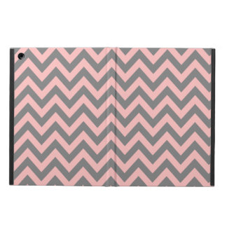 Pink and Gray Zigzag 2 Case For iPad Air