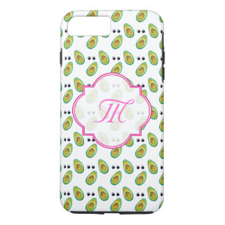 pink and green avocado iPhone 8 plus/7 plus case