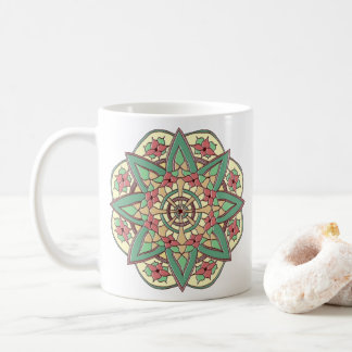 Pink and Green Blessings Mug