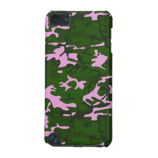 Pink and Green Camo iPod Touch (5th Generation) Case