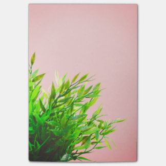 Pink and Green House Plant Nature Gardening Post-it Notes