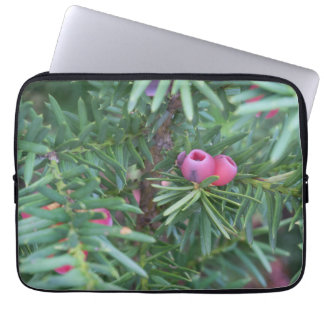 Pink and Green Laptop Sleeve