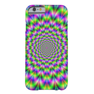 Pink and Green Neon Flower iPhone 6 case Barely There iPhone 6 Case