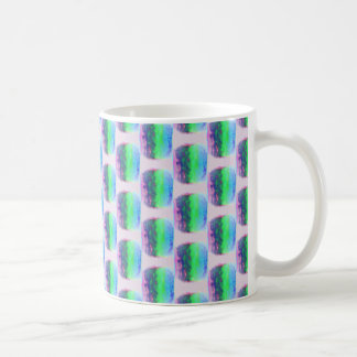Pink and Green Pattern Mug