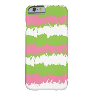 Pink and Green Style Cell Phone Gear Barely There iPhone 6 Case