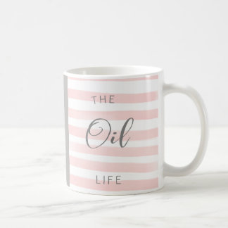 Pink and Grey Essential Oil Mug