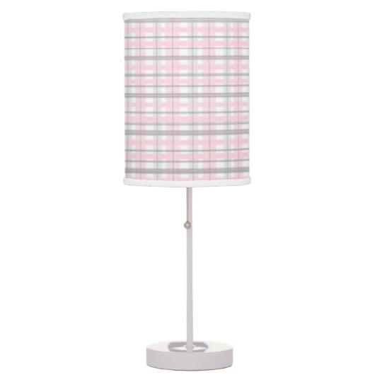 Pink And Grey Nursery Bedroom Lamp Shade Grey