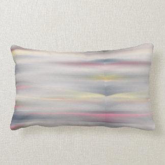 Pink and grey pastel pillow matching duvet