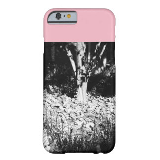 Pink and Grey Tree Barely There iPhone 6 Case
