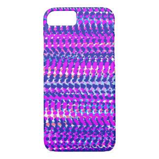 Pink and Indigo Phone Case