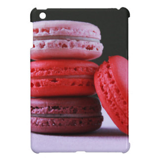 Pink and Magenta Stack of French Macaron Cookies Case For The iPad Mini