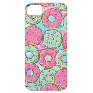 PINK AND MINT COOKIES DONUT SPRINKLE CRUSH CASE FOR THE iPhone 5