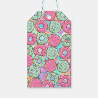 PINK AND MINT COOKIES DONUT SPRINKLE CRUSH GIFT TAGS