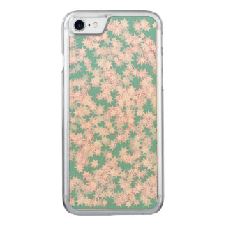 Pink and Mint Green Stars Carved iPhone 8/7 Case