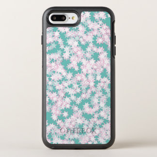 Pink and Mint Green Stars OtterBox Symmetry iPhone 8 Plus/7 Plus Case
