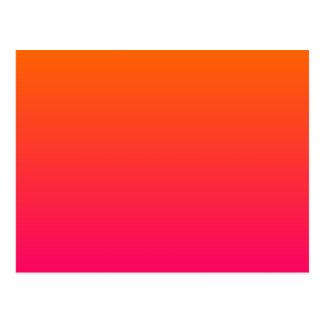 Pink and Orange Ombre Postcard