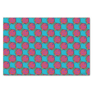Pink and Orange Polka-Dot Fish Tissue Paper