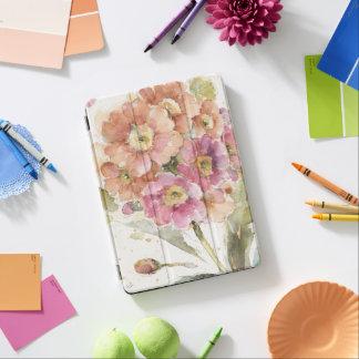 Pink and Orange Primrose iPad Air Cover