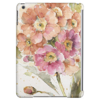Pink and Orange Primrose iPad Air Covers