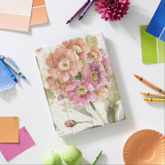 Pink and Orange Primrose iPad Cover