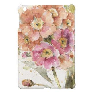 Pink and Orange Primrose iPad Mini Cover