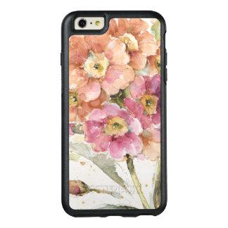 Pink and Orange Primrose OtterBox iPhone 6/6s Plus Case