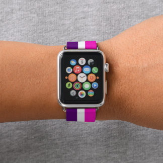 Pink and Purple Apple Watch Band