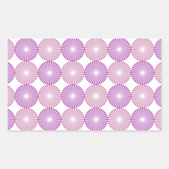 Pink and purple circles pattern