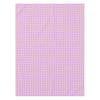 Pink and purple circles pattern tablecloth