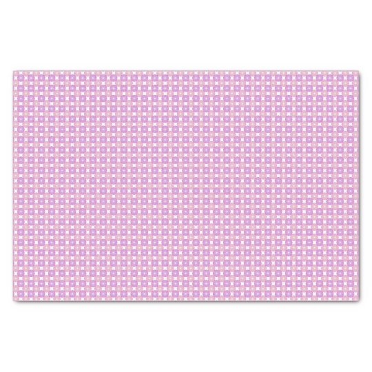 Pink and purple circles pattern tissue paper