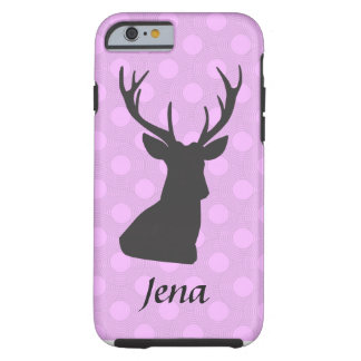 Pink and Purple Deer Hunting Themed Phone Case