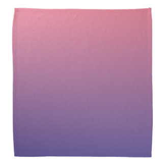 Pink and Purple Gradient Colors Bandannas