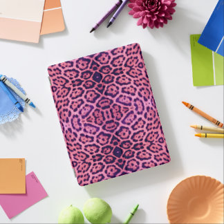 Pink and Purple Jaguar Fur iPad Cover