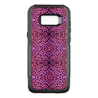 Pink and Purple Jaguar Fur OtterBox Commuter Samsung Galaxy S8+ Case