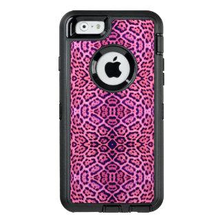 Pink and Purple Jaguar Fur OtterBox Defender iPhone Case