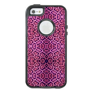 Pink and Purple Jaguar Fur OtterBox iPhone 5/5s/SE Case