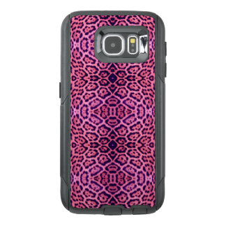 Pink and Purple Jaguar Fur OtterBox Samsung Galaxy S6 Case