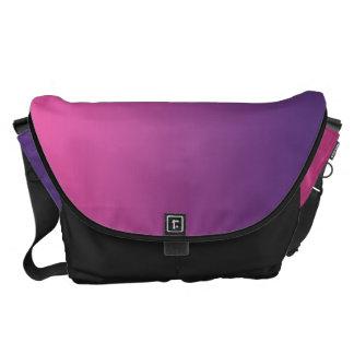 Pink And Purple Large Messenger Bag