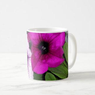 Pink And Purple Petunia Coffee Mug