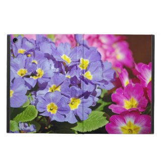 Pink and purple primroses case for iPad air