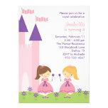Pink and Purple Princess Invitation
