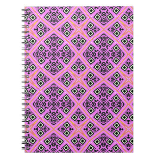 Pink and Purple Retro Notebook