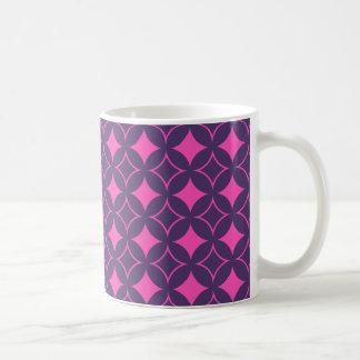 Pink and purple shippo coffee mug