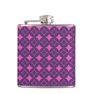 Pink and purple shippo flask